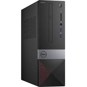 Sistem Desktop PC DELL Vostro 3470 SFF, Intel Core i5-9400 pana la 4.1GHz, 8GB, SSD 256GB, Intel UHD Graphics 630, Ubuntu