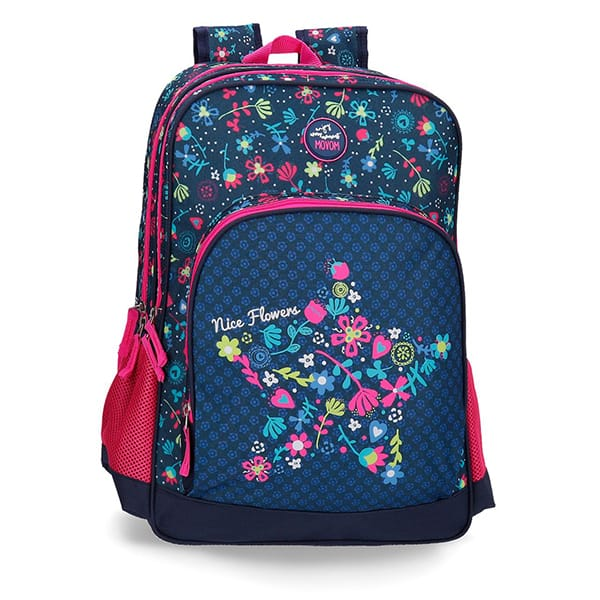 Rucsac MOVOM Nice Flowers 34424.61, multicolor