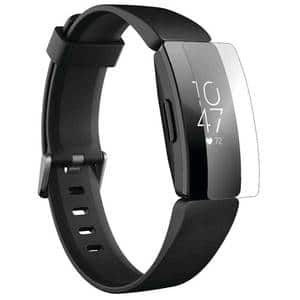 Folie protectie pentru FitBit Inspire HR, SMART PROTECTION, 4 folii incluse, polimer, display, transparent