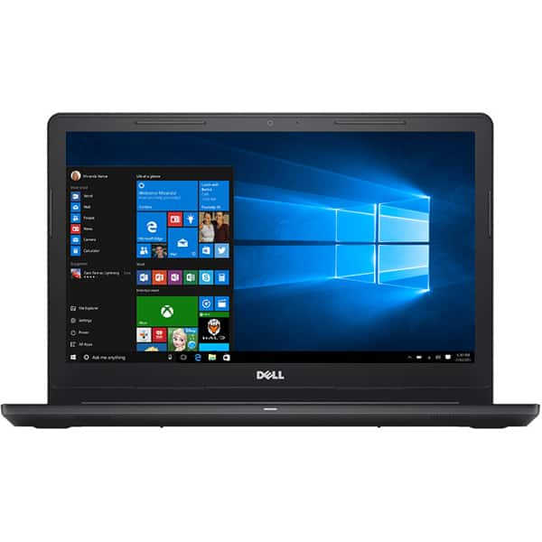 "Laptop DELL Inspiron 3573, Intel® Celeron® N4000 pana la 2.6GHz, 15.6"" HD, 4GB, 500GB, Intel® UHD Graphics 600, Windows 10 Home, rosu"