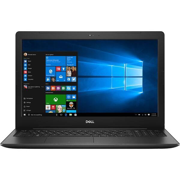 "Laptop DELL Inspiron 3581, Intel Core i3-7020U 2.3GHz, 15.6"" Full HD, 4GB, 1TB, AMD Radeon 520 2GB, Windows 10 Home, Negru"