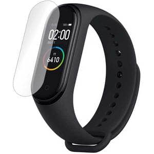 Folie protectie pentru Xiaomi Mi Band 4, SMART PROTECTION, 4 folii incluse, polimer, display, transparent