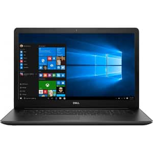 "Laptop DELL Inspiron 17 3793, Intel Core i5-1035G1 pana la 3.6GHz, 17.3"" Full HD, 8GB, 1TB + SSD 128GB, NVIDIA GeForce MX230 2GB, Windows 10 Pro, negru"