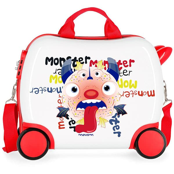 Troler copii MOVOM Monster 37210.65, 41 cm, multicolor