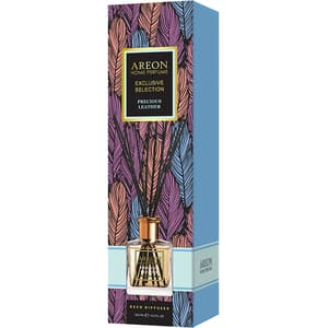 Odorizant cu betisoare AREON Home Perfume Precious Leather, 150 ml