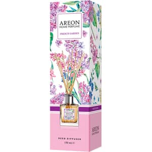 Odorizant cu betisoare AREON Home Perfume French Garden, 150 ml
