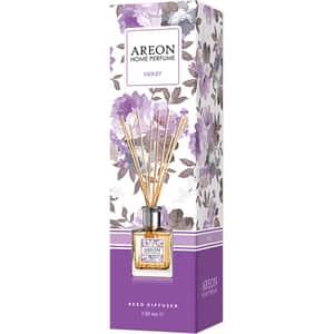 Odorizant cu betisoare AREON Home Perfume Violet, 150 ml