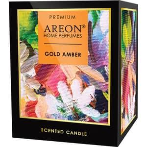 Lumanare parfumata AREON Home Premium Gold Amber, 313 g