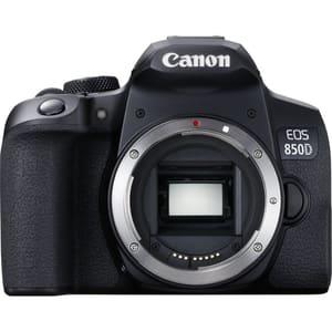 Aparat foto DSLR CANON EOS 850D , 24.1 MP, 4K, Wi-Fi, negru, Body