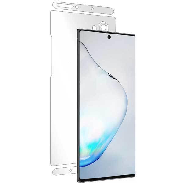 Folie protectie pentru Samsung Galaxy Note 10 Plus, SMART PROTECTION, polimer, spate si laterale, transparent