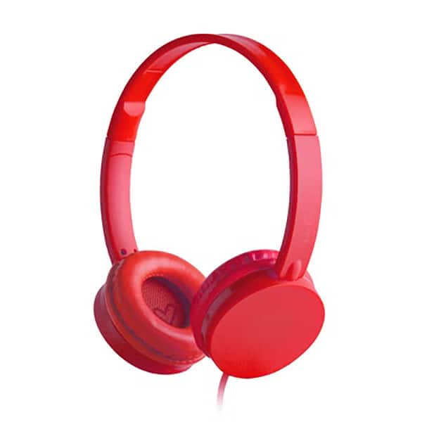 Casti ENERGY SISTEM Colors ENS394357, Cu Fir, On-Ear, rosu