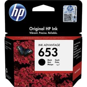 Cartus original HP 653 (3YM75AE), negru