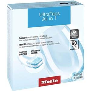 Detergent pentru masina de spalat vase MIELE UltraTabs All in One, 60 tablete