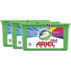 Detergent capsule ARIEL All in One PODS Touch of Lenor, 117 spalari