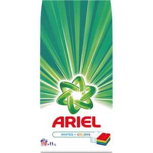 Detergent automat ARIEL White & Color, 11 kg, 110 spalari