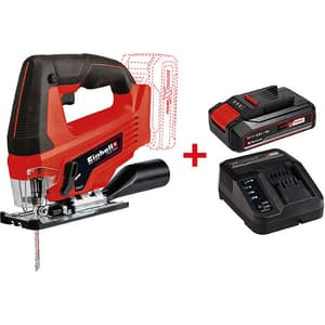 Fierastrau pendular EINHELL Power X-Change TC-JS 18 Li - Kit, 720W, 2700RPM, adancime 70mm + Acumulator