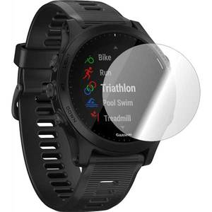 Folie protectie pentru Garmin Forerunner 945, SMART PROTECTION, 2 folii incluse, polimer, display, transparent