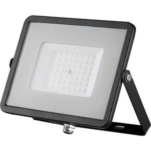 Proiector LED V-TAC 408, 50W, 4000 lumeni, IP65, lumina rece, negru