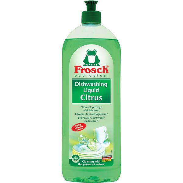 Detergent de vase ecologic FROSCH Lamaie, 750ml