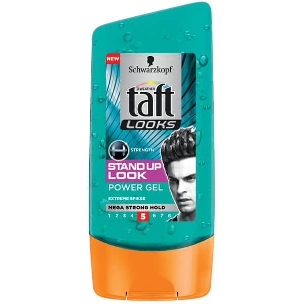 Gel de par TAFT Looks Stand Up Extreme, pentru barbati, 150ml