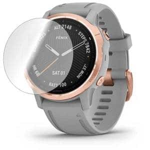 Folie protectie pentru Garmin Fenix 6s, SMART PROTECTION, 4 folii incluse, polimer, display, transparent