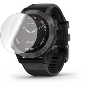 Folie protectie pentru Garmin Fenix 6, SMART PROTECTION, 4 folii incluse, polimer, display, transparent