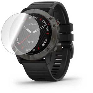 Folie protectie pentru Garmin Fenix 6x, SMART PROTECTION, 2 folii incluse, polimer, display, transparent