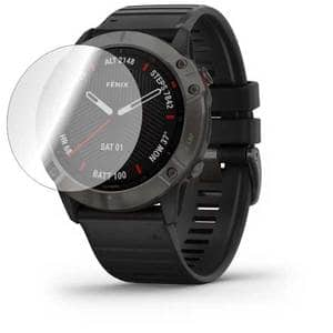 Folie protectie pentru Garmin Fenix 6x, SMART PROTECTION, 4 folii incluse, polimer, display, transparent