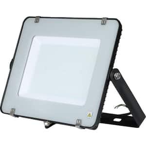 Proiector LED V-TAC 418, 200W, 16000 lumeni, IP65, lumina naturala, negru