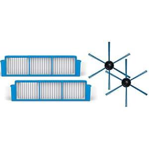 Kit PHILIPS SmartPro Easy FC8007/01: 2 filtre + 2 perii