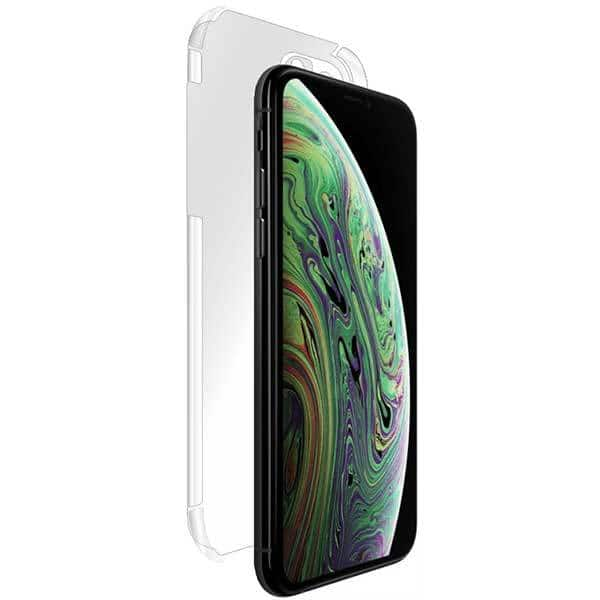 Folie protectie pentru Apple iPhone 11 Pro Max, SMART PROTECTION, polimer, spate si laterale, transparent