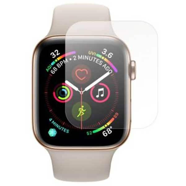 Folie protectie pentru Apple Watch Series 4 40mm, SMART PROTECTION, 4 folii incluse, polimer, display, transparent
