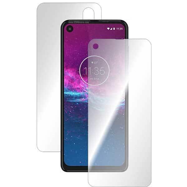 Folie protectie pentru Motorola One Action, SMART PROTECTION, polimer, fullbody, transparent