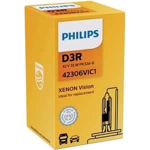 Bec auto xenon pentru far PHILIPS Vision, D3R, 42V, 35W, PK32D-6, 1 bucata