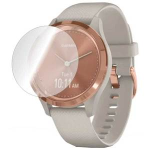 Folie protectie pentru Garmin Vivomove 3s 39mm, SMART PROTECTION, 4 folii incluse, polimer, display, transparent