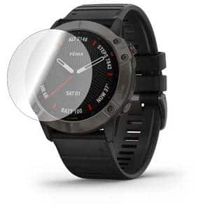Folie protectie pentru Garmin Fenix 6x Pro, SMART PROTECTION, 2 folii incluse, polimer, display, transparent