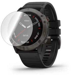 Folie protectie pentru Garmin Fenix 6x Pro, SMART PROTECTION, 4 folii incluse, polimer, display, transparent