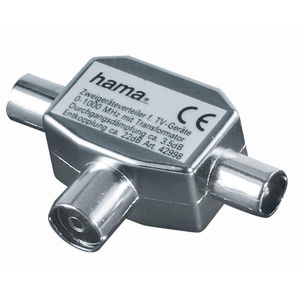 Splitter antena coaxial HAMA 42998, 2 iesiri
