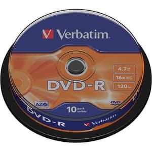 DVD-R VERBATIM 43523, 16x, 4.7GB, 10buc