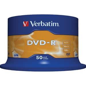 DVD-R VERBATIM 43548, 16x, 4.7GB, 50buc