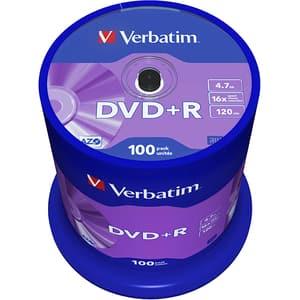 DVD+R VERBATIM 43551, 16x, 4.7GB, 100buc
