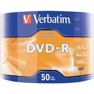 DVD-R VERBATIM 43791, 16x, 4.7GB, 50buc