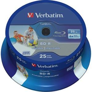 BD-R SL VERBATIM 43811, 6x, 25GB, 25buc