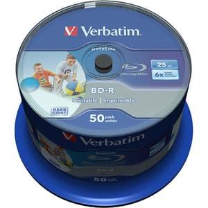 BD-R SL VERBATIM 43812, 6x, 25GB, 50buc