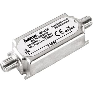 Amplificator semnal SAT Inline 20dB HAMA 44131