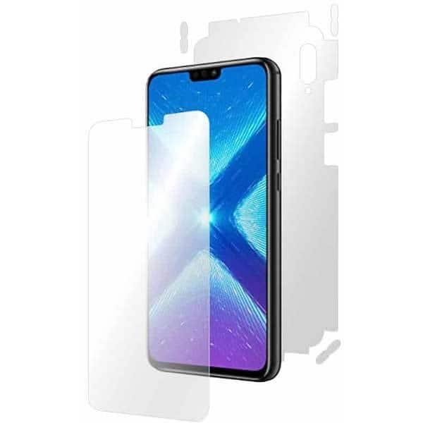 Folie protectie pentru Huawei Honor 8x, SMART PROTECTION, polimer, fullbody, transparent