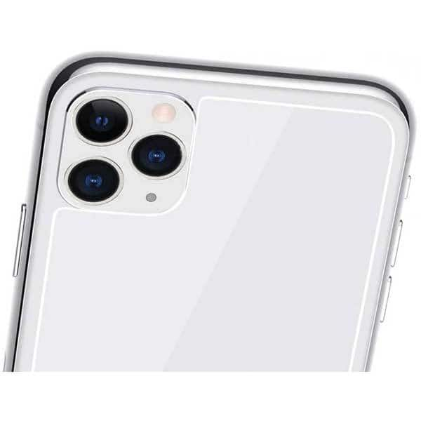 Folie Tempered Glass pentru Apple iPhone 11 Pro Max, SMART PROTECTION, spate, transparent