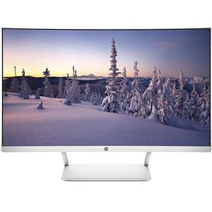 """Monitor curbat LED VA HP Z4N74AA, 27"""", Full HD, 60Hz, argintiu"""