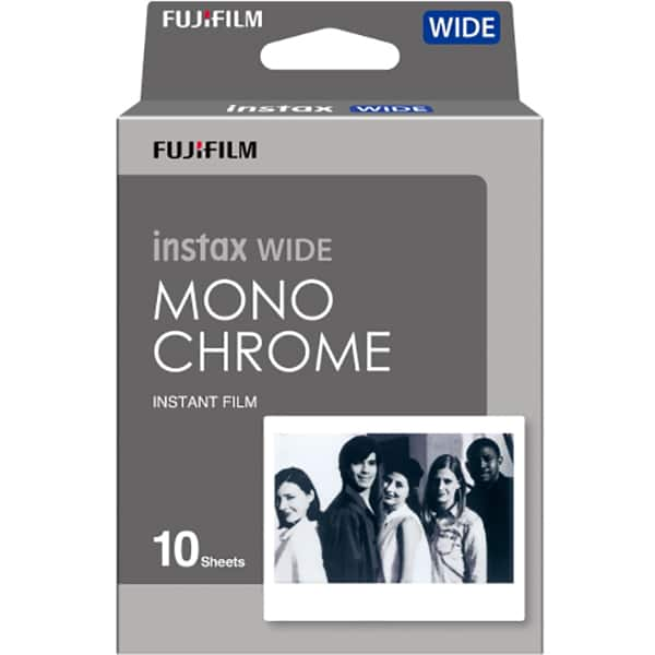 Film instant FUJI Wide Monochrome, 10 coli