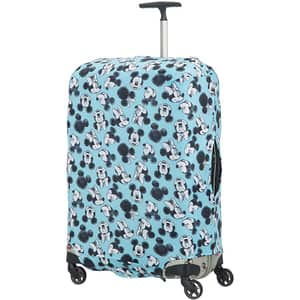 Husa troler SAMSONITE Disney Mickey/Minnie L, albastru